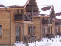 Деревянные дома,  Дома жилые бизнес категории,