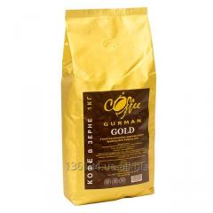 Кофе зерновой Coffee gurman Gold 80% Arabica 20%