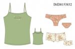 Трикотажная пижама для девочек Иннаморе IMD