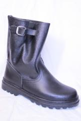 Boots are kersey