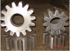 Shaft, Valy-Shesterni, Gear wheels of cogwheels
