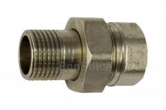 """Сгон никель STA - 1/2"""" под ключ премиум"""