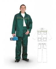 Overalls. Foreman's suit (jacket and
