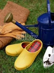 Обувь деревянная