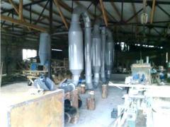 Drying for sawdust Drying kompleksliniya for