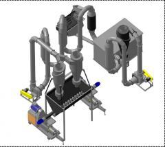 Линия по производству топливных брикетов ЛПТБ 500