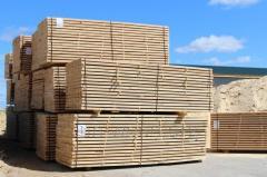 Board cut dry pine