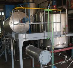 Vacuum-evaporator installation of OVD-500 and