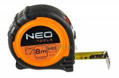 Рулетка NEO - 8 м x 25 мм магнит