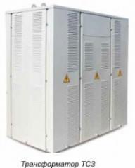 Transformer power dry three-phase TSZ-100 of 6 kV.