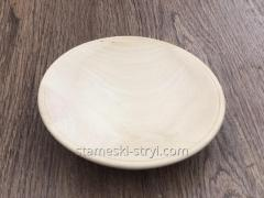 Plaat,  een stuk hout onder de draad linde...