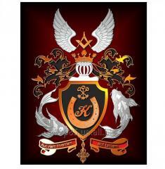 Гербы и логотипы из металла.