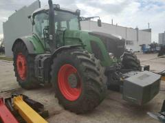 The tractor FENDT 936 VARIO, Power