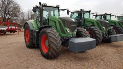 The tractor FENDT 936 VARIO, Power Plus
