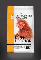 Комбикорм ПК 3-4  для молодняка кур-несушек