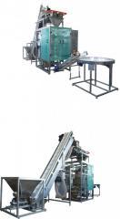 Automata gép csomagolás ömlesztett termékek