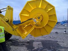 Cable-laying machine