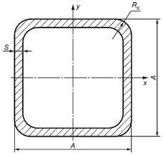 Труба профильная Ст 3,  мм 40х25х3, 0 (4, 0)