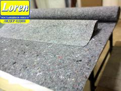 Graphite felt (always available - a wide choice)