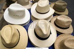 Уборы головные мужские летние, шляпы мужские
