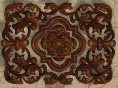 Products are wooden carved