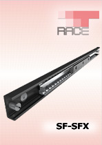 Telescopic guides. BALLRACE