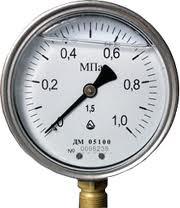 Manometer vibration-proof DM 05 100-05M G