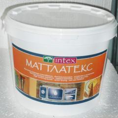 "Краска ""INTEX"" Маттлатекс 14 кг."