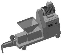 Пресс шнековый- ПШ -190 для линии по производству