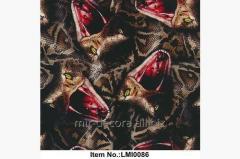 Пленка для аквапечати, цветные змеи (LMI0086)