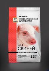 Комбикорм ПК 55-1  Откорм для свиней