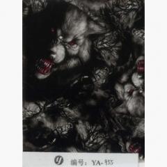 Пленка для аквапечати, волки (YA955)