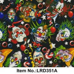 Пленка для аквапечати, клоуны (LRD350A)