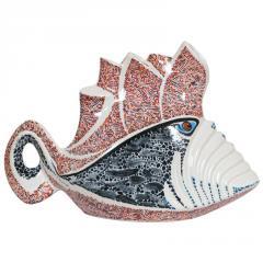 Керамическая фигурка Рыба Рыцарь