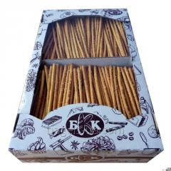 Straws salted weight - 1 kg, Storage time -. 6