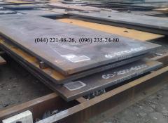 Лист 4-200 мм сталь 3, 20, 45, 40Х, 09Г2С, 65Г,