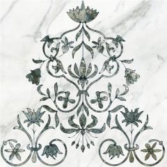Декор Keramin 29 Каррара 1 Тип 2 (Ковер) (500Х500)