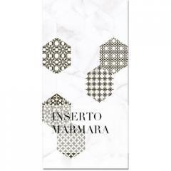 Плитка облицовочная Bellavista Ceramica Inserto Marmara Blanco