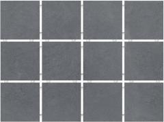 Плитка облицовочная KERAMA MARAZZI 9,9х9,9х7 Амальфи серый темный, полотно 30х40 из 12 частей 9,9х9,9 (1290)