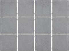 Плитка облицовочная KERAMA MARAZZI 9,9х9,9х7 Амальфи серый, полотно 30х40 из 12 частей 9,9х9,9 (1271)