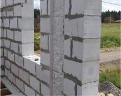 To buy gas-concrete blocks, Blocks from cellular