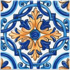 Декор Kerama Marazzi 9,9Х9,9Х7 Капри Майолика (Stg\A490\1146)