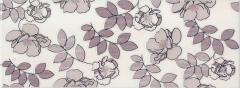 Декор Kerama Marazzi 15Х40Х8 Ньюпорт Цветы Фиолетовый (Stg\C182\15010)