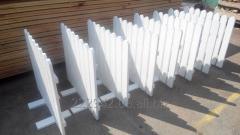 Деревянный забор/ограды из дерева