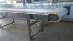 Конвейер ленточный, инспекционный стол для