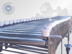 Roller conveyor pantograph, does not drive.
