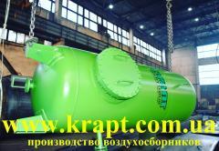 Вертикальный воздухосборник (Ресивер)  V-20 м.куб производство