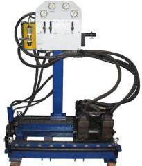 Комплекс оборудования для бестраншейной прокладки гибких трубопроводов - УНБ9