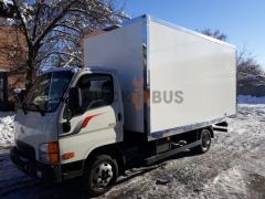 Автомобиль грузовой Hyundai HD35 с промтоварным фургоном