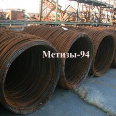 Rolled wire steel SAE 1006, diameter of 5,5 and